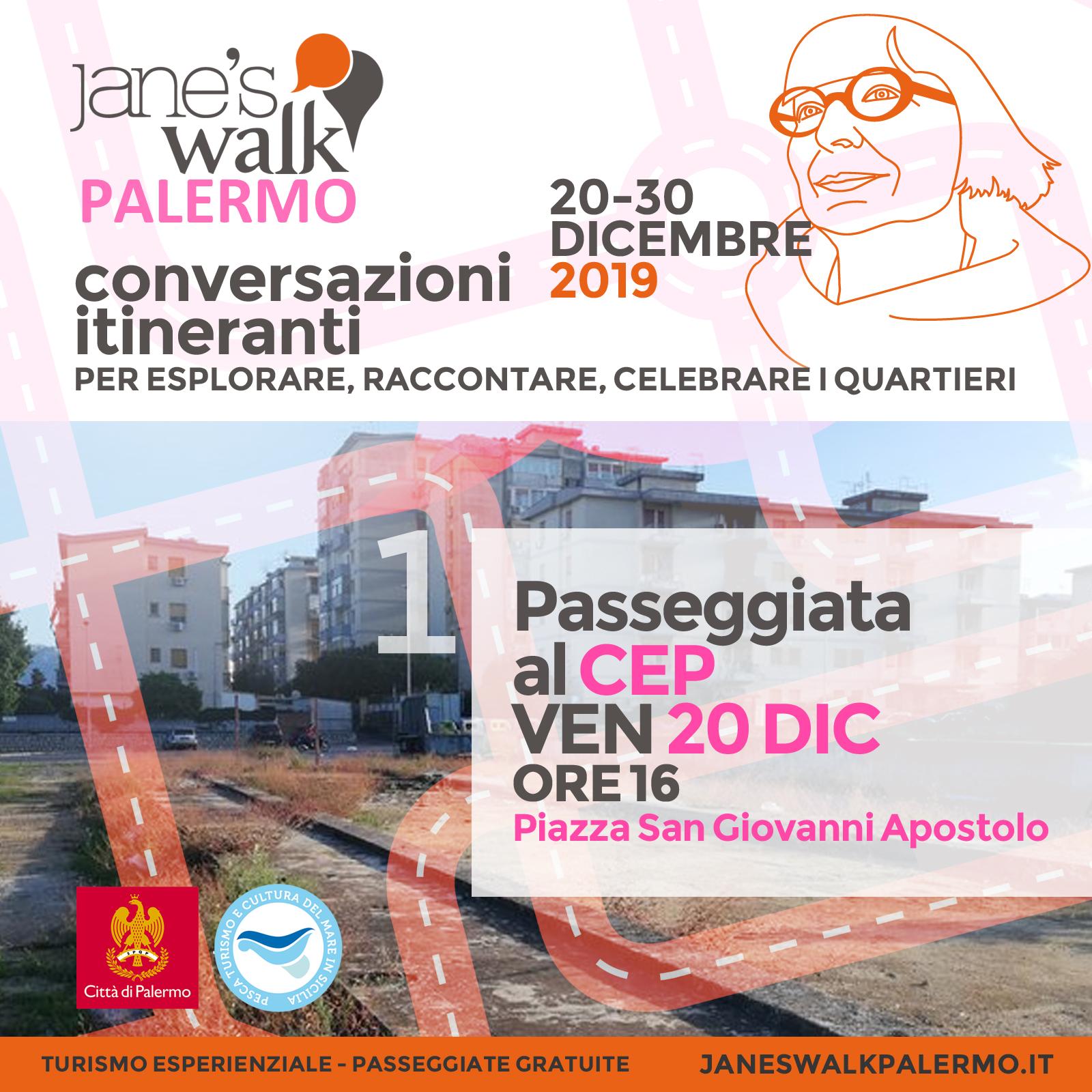 Jane's Walk Palermo - Passeggiata al CEP