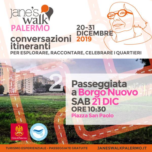 Jane's Walk Palermo - Passeggiata a Borgo Nuovo