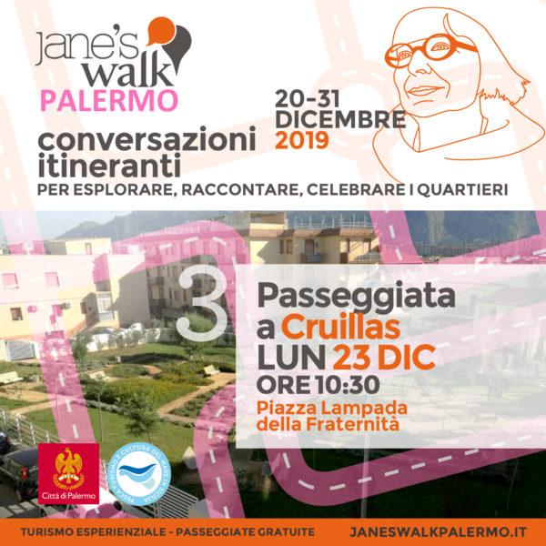 Jane's Walk Palermo - Passeggiata a Cruillas