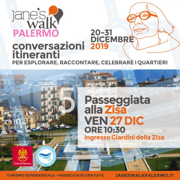 Jane's Walk Palermo - Passeggiata alla Zisa