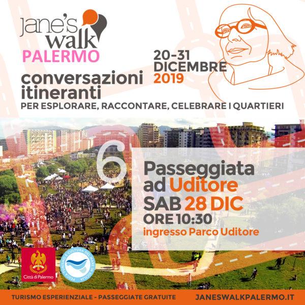 Jane's Walk Palermo - Passeggiata a Uditore