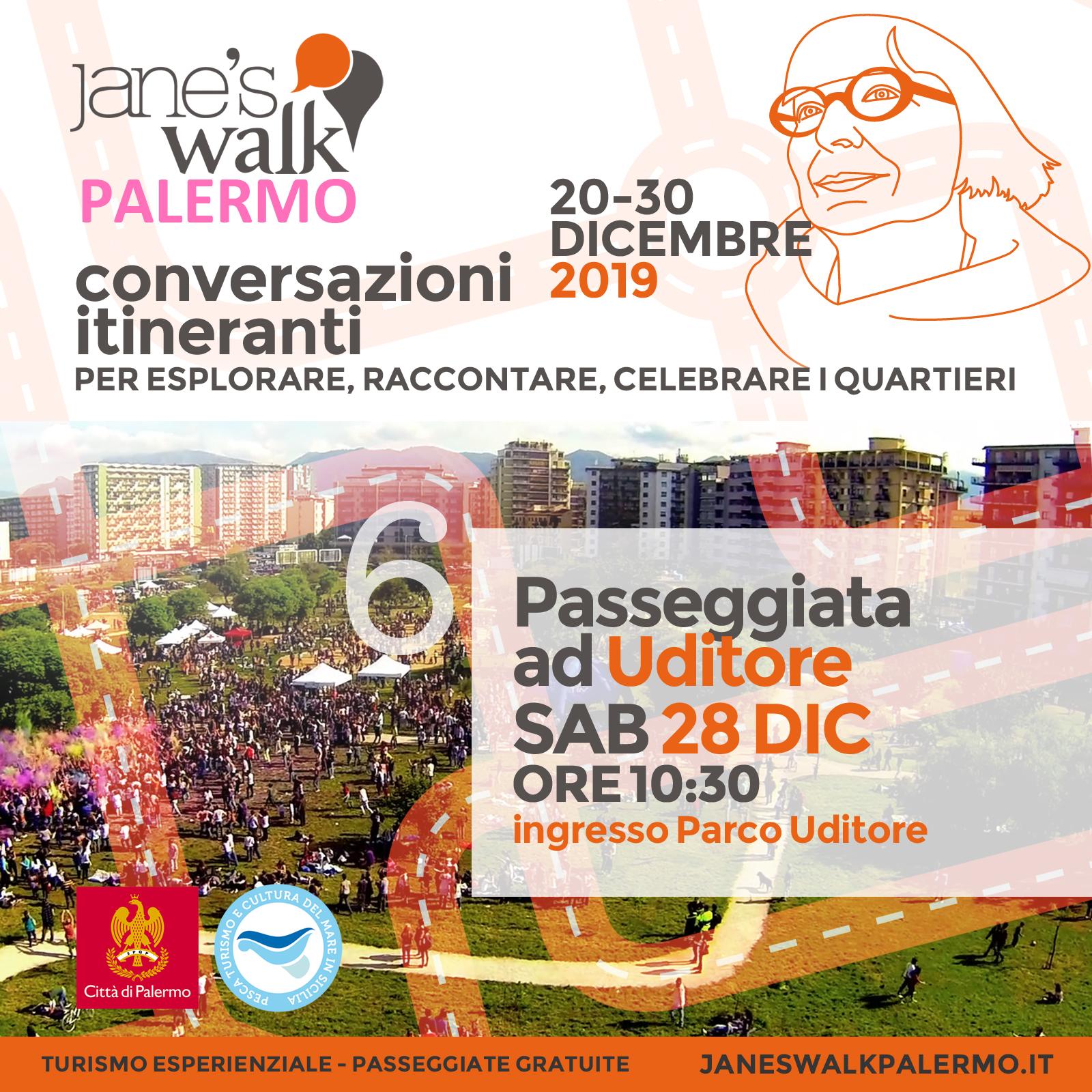Jane's Walk Palermo - Passeggiata ad Uditore