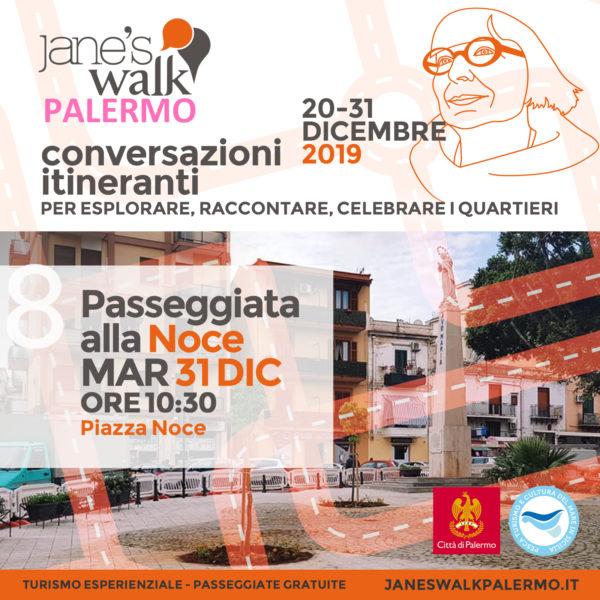 Jane's Walk Palermo - Passeggiata alla Noce